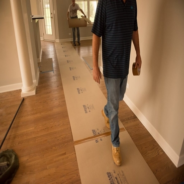 Hardwood Floor Protector – Perfect way to avoid Construction Damages and Retain Floor Beauty!