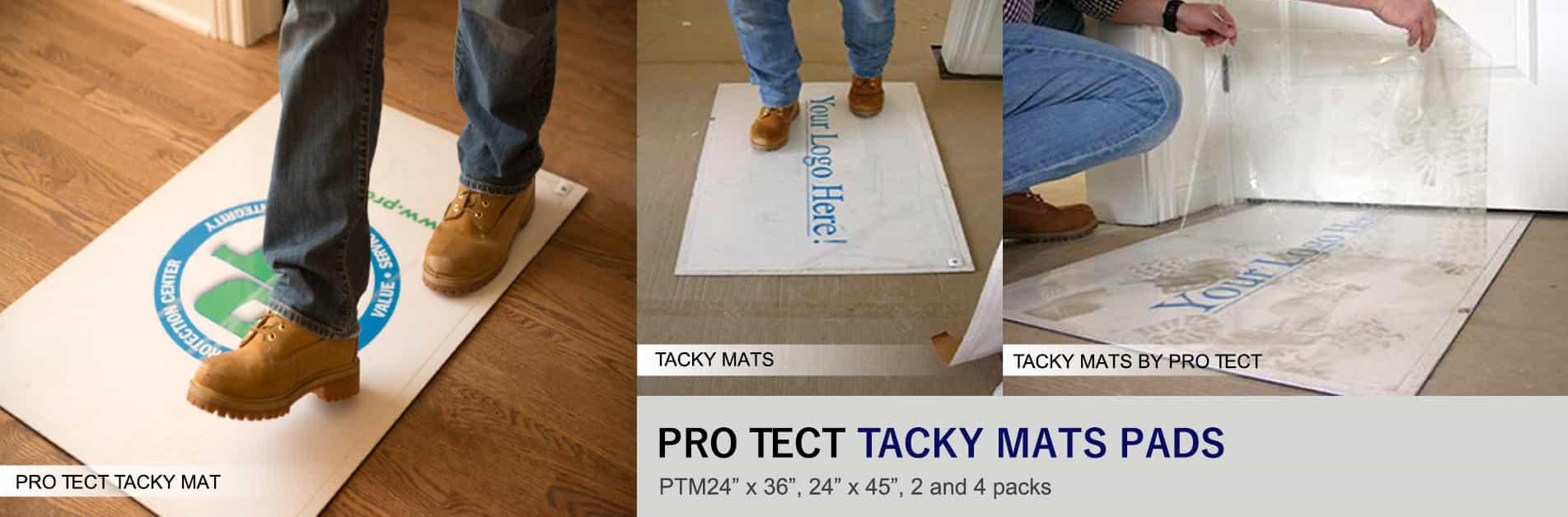 Protect Tacky Mats